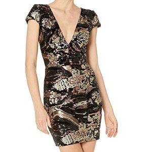 Dress the Population Zoe Cap sleeve dress